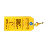 CompX Timberline KY-500-TA Timberline Lock Accessories, Lock plug change key required to remove lock plugs from cylinder bodies