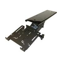 KV Waterloo 5735D, Keyboard Arm with Keyboard Platform Clamp, Black Powder Coat