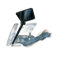 Weber-Knapp 21283 2 162, Mouse Tray, Tilt and Swivel Feature, 8 W x 8 L, Black