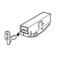 Selby MTCHLCHJZ, Push Latch, Non-Magnetic , Metal Housing, Zinc Plated