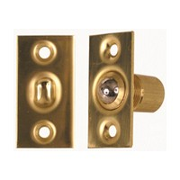 Allegion US 44074076790, Ball Catch, Adjustable, Bright Brass