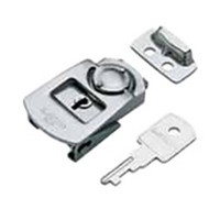 Sugatsune PN-51, Mini Draw Latches with Lock, Stainless Steel