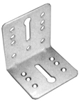 Grass Top & Bottom Mount Adapter Brackets, White