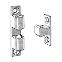 Engineered Products (EPCO) 1017-DC 2-23/32 L Bulk-100, Tension Catch with Strike Plate, Adjustable Tension, Dull Chrome