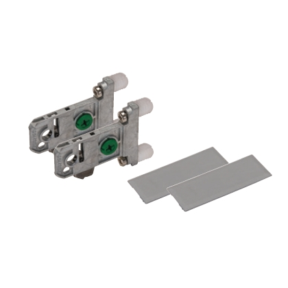 Grass F136106491517, Vionaro H89 Adapter Set, Silver Gray