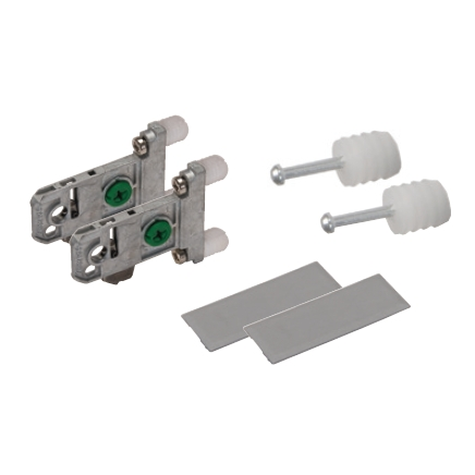 Grass F136106493517, Vionaro Adapter Set for H121, H185, H259, Silver Gray