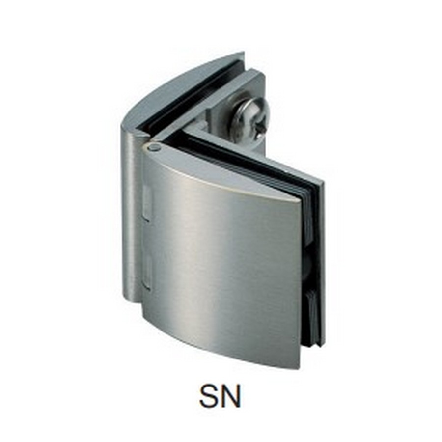 Glass Door Hinge No Catch Nickel Sugatsune GH-450G-SN