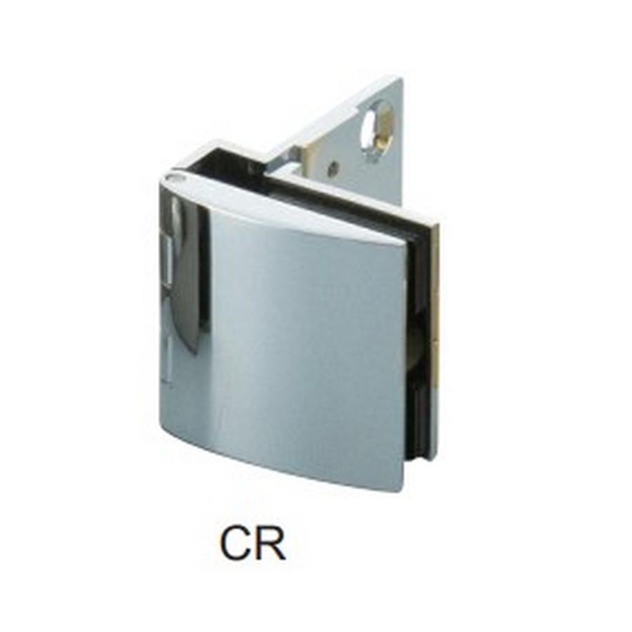 Overlay Glass Door Hinge No Catch Chrome Sugatsune GH-456N-CR