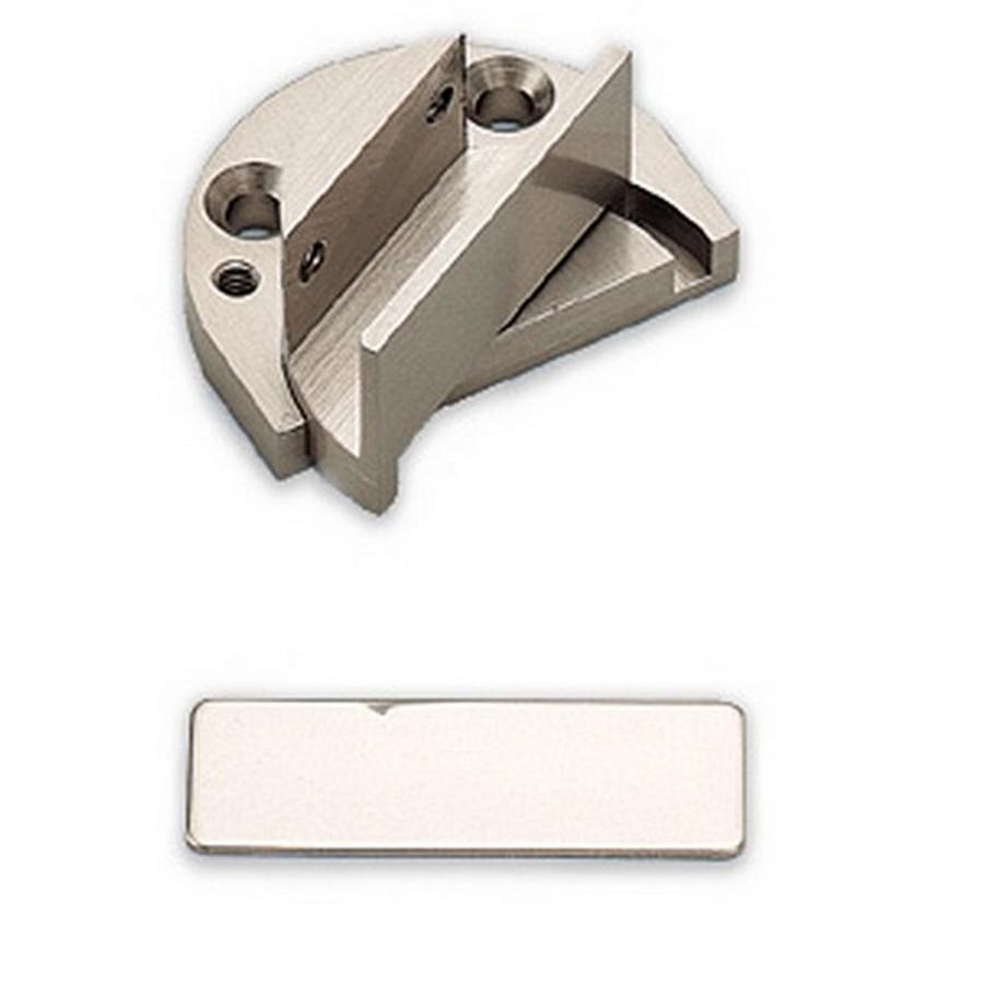 Pivot Type Insert Glass Door Hinge Nickel Sugatsune GP-40