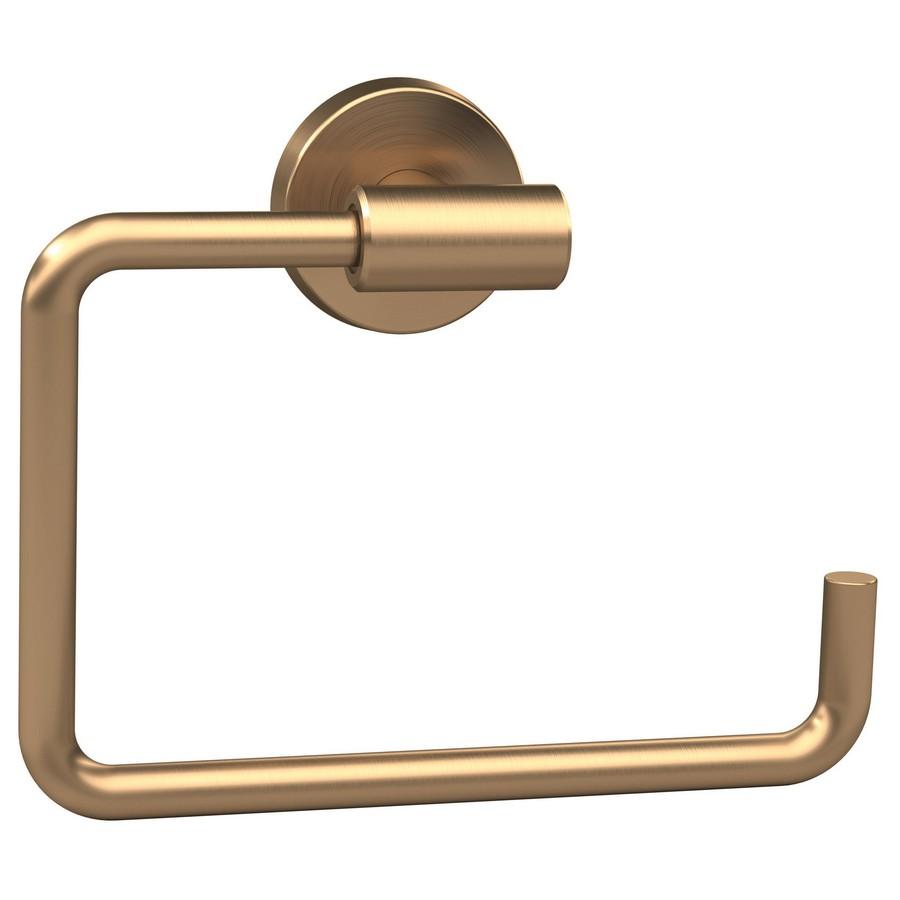 "Arrondi Towel Ring 6-7/16"" Long Golden Champagne Amerock BH26541BBZ"