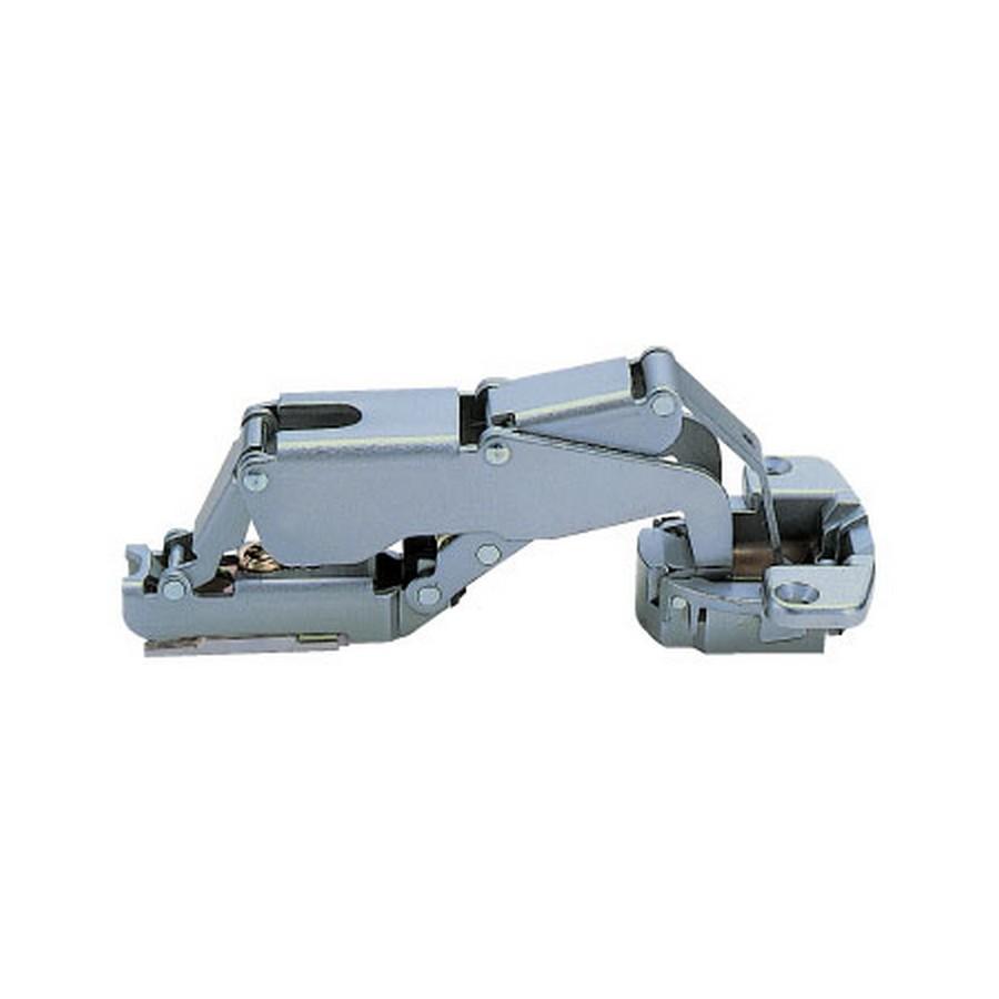 H160 Series European Thick Door Hinge 28mm Overlay Free Swing Sugatsune H160-34-28