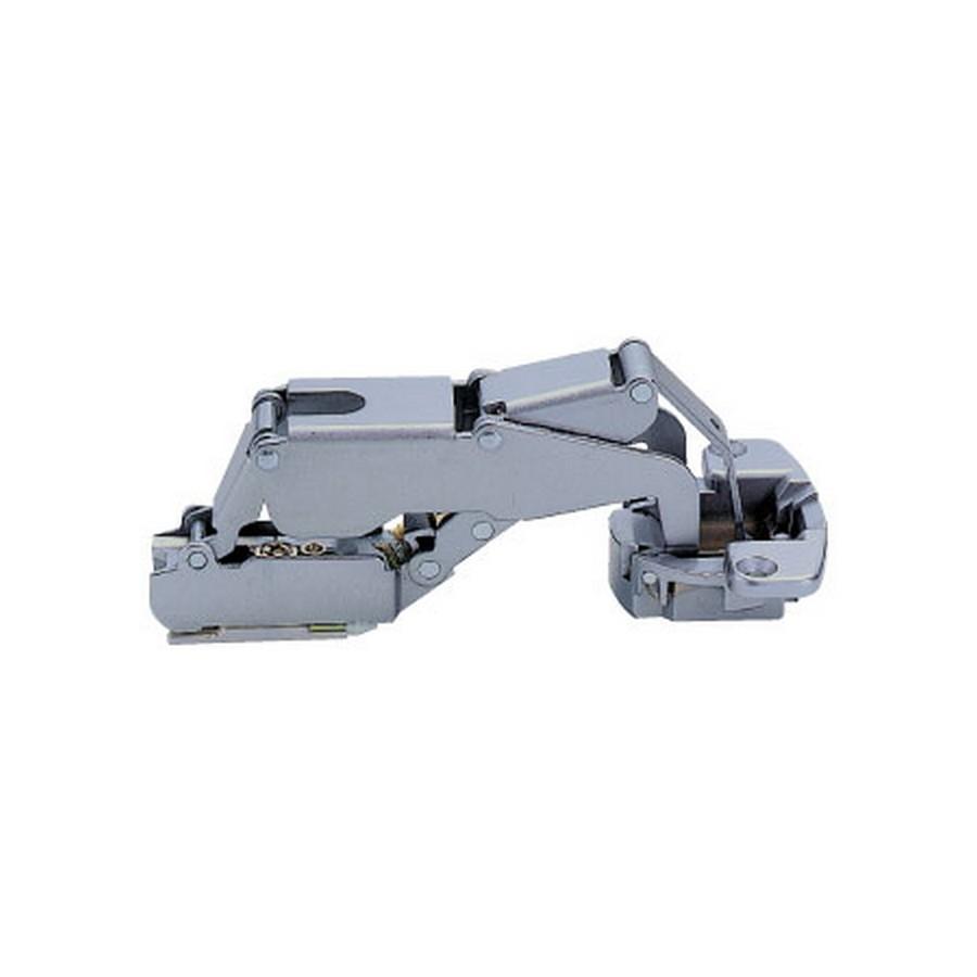 H160 Series European Thick Door Hinge 18mm Overlay Self-Closing Sugatsune H160-C34-18