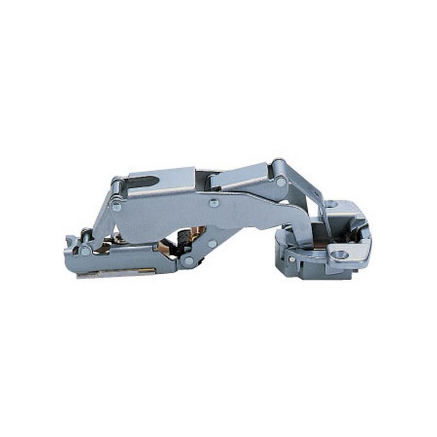 H160 Series European Thick Door Hinge 28mm Overlay Self-Closing Sugatsune H160-C34-28