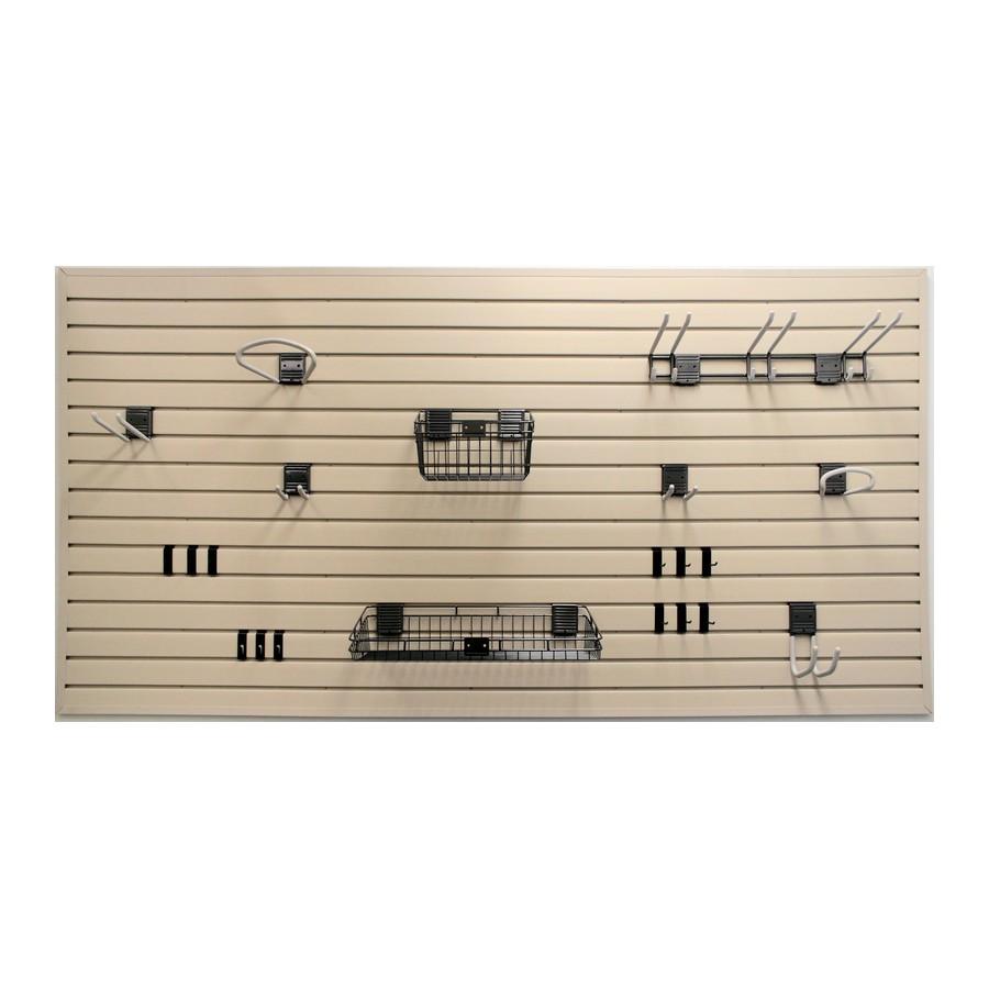 HandiWALL Starter Kit White (8)  Panels and (21) Accessories HandiSOLUTIONS HSBWK1004