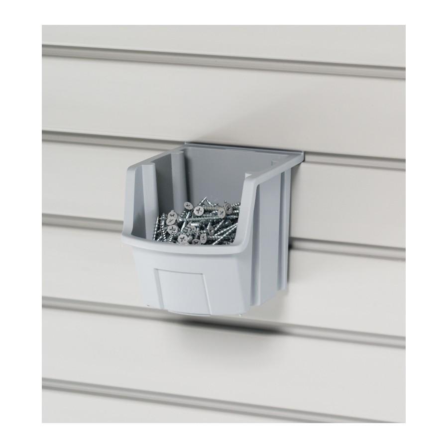 "HandiACCESSORIES Individual Storage Bin, 4-1/2"" x 5"" x 5-1/2"" Gray HandiSOLUTIONS HSPUBG"