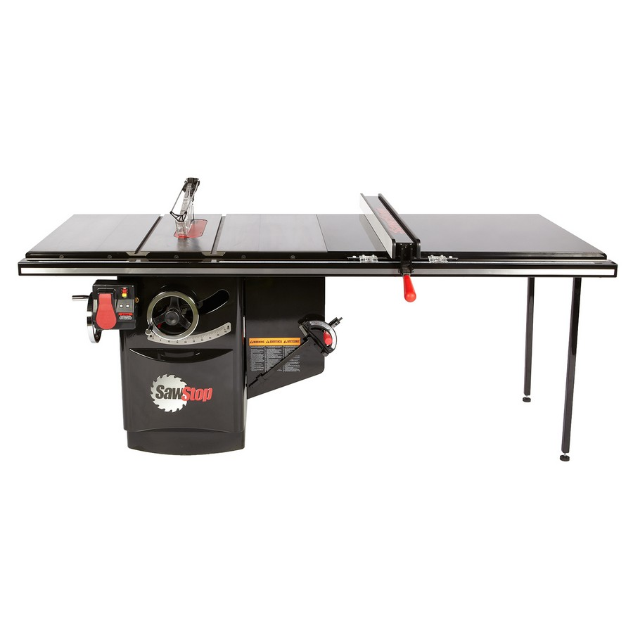 """SawStop Industrial Cabinet Saw, 5hp 1ph 230v with 52"""" T-Glide Fence Assembly ICS51230-52"""