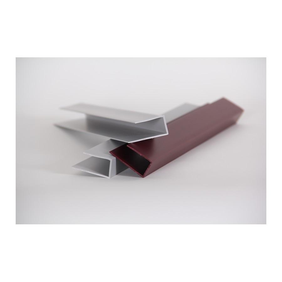 "HandiTRIM Large J-Molding Slatwall Trim 96"" Maple HandiSOLUTIONS HST5096L"