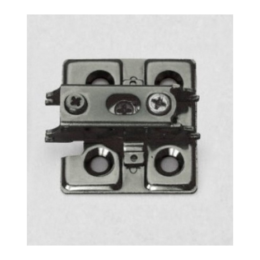 "Mounting Plate for J95 Hinge 7/8"" H Black Nickel Sugatsune J95-P6T-BN"