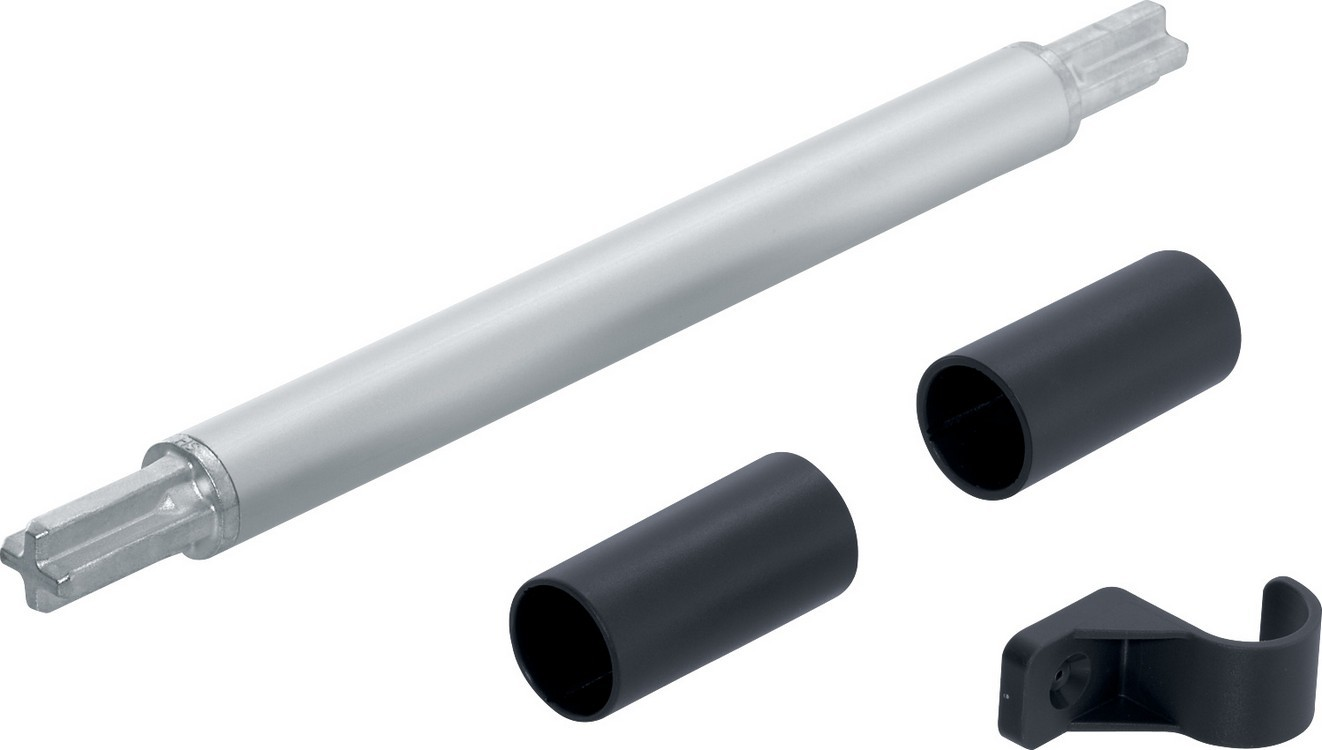 Blum 20Q153ZN AVENTOS HS Stabilizer Rod Connector Set, Up & Over Door Lift Systems