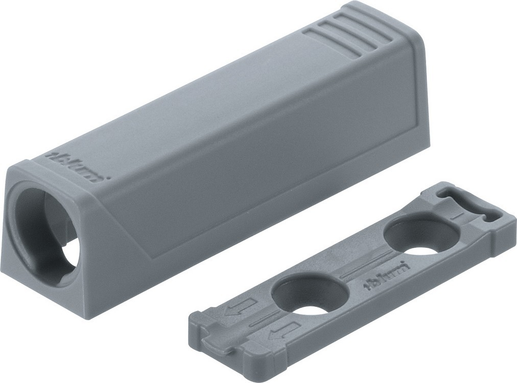 Blum 9561201 TIP-ON In-Line Adapter Plate for Standard Doors