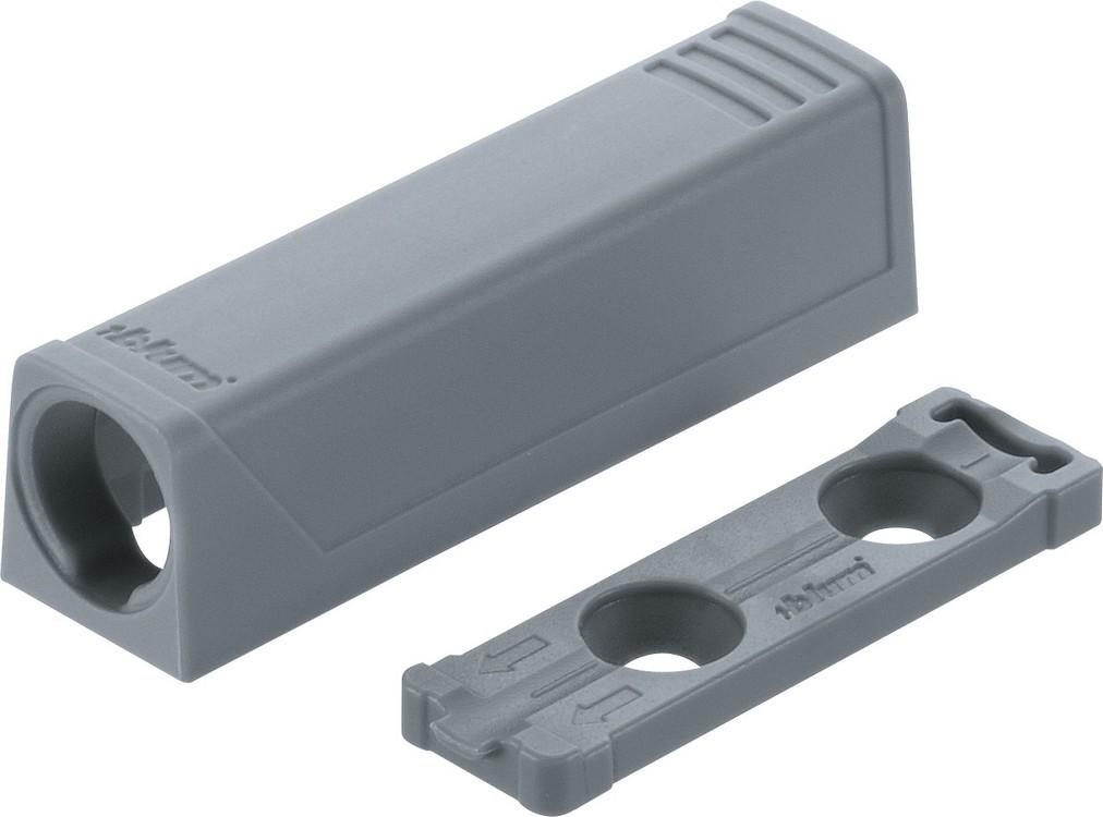 Blum 9561201 TIP-ON In-Line Adapter Plate for Standard Doors