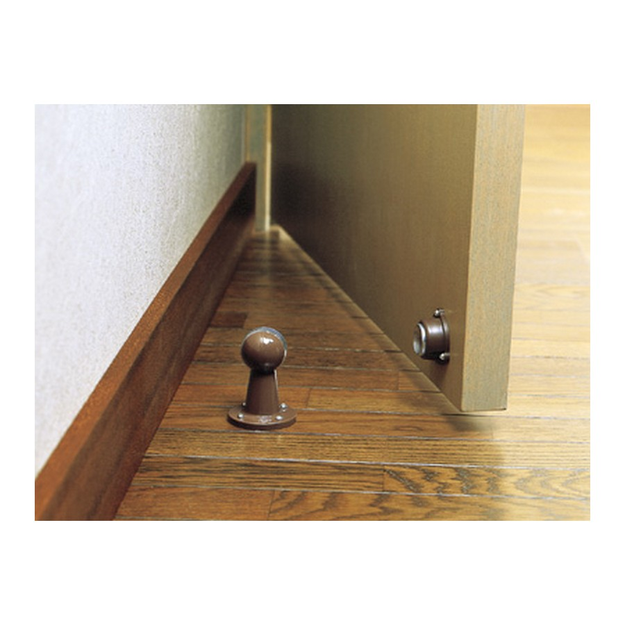 Magnetic Door Stop and Holder Brown Sugatsune SMDH/BRN