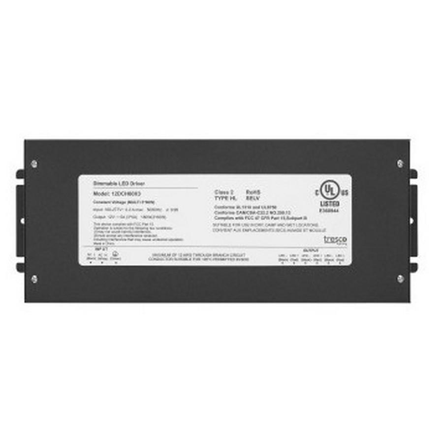 12VDC 180W Hardwire Power Supply Black Tresco L-12DCH60X3-1