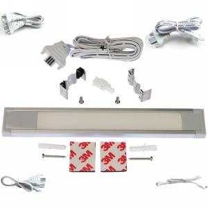 """LED Linear Lighting Kit for 12"""" Cabinet - Eurolinx, 3W, Cool Light, 5000K"""