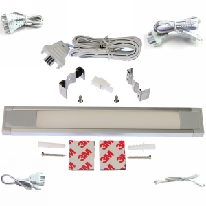 """LED Linear Lighting Kit for 12"""" Cabinet - Eurolinx, 3W, Warm Light, 3000K"""