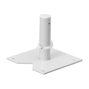 Rev-A-Shelf LD-24BM1-04-10 Bulk-10, 4-1/2 Shaft, Bottom Mount Lazy Susan Hardware Component, Lazy Daisy for Polymer Kidney Shaped 1-Shelf Lazy Susans