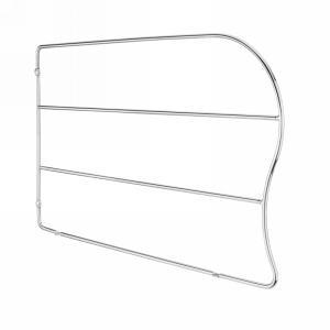 Rev-A-Shelf LD-597-12CR-10, 12in Chrome Wire Tray Divider, Clip-Less Tray Divider, 10-Pk