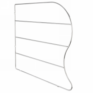 Rev-A-Shelf LD-597-18CR-10, 18in Chrome Wire Tray Divider, Clip-Less Tray Divider, 10-Pk