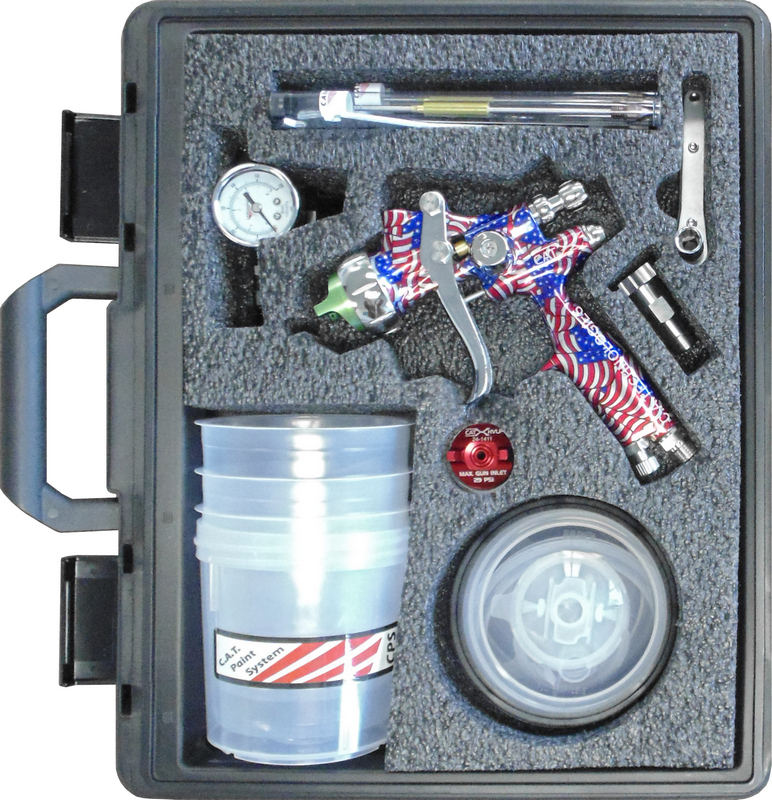 C.A. Technologies CAT-X Gravity Pack-American Flag Handle PPS Set Up