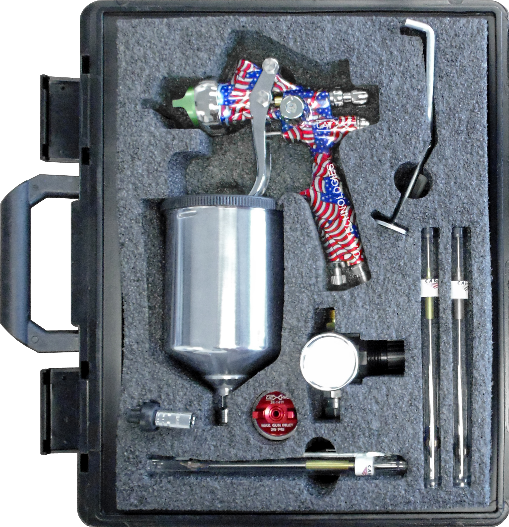 C.A. Technologies CAT-X Gravity Pack-American Flag Handle