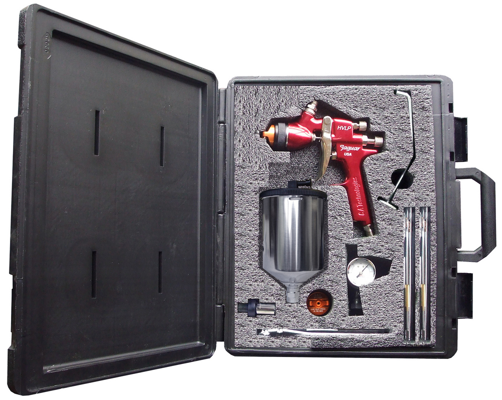 CA Tech CPJ100H-W, Jaguar HVLP Kit, Alum Gravity Cup