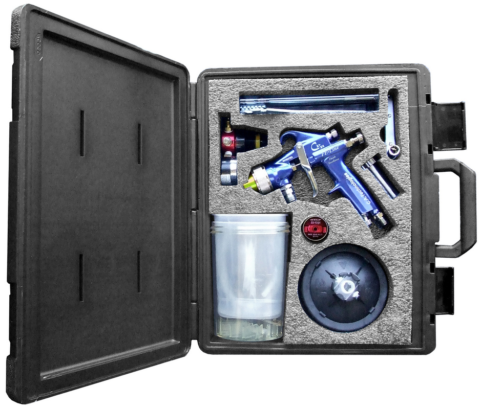 CA Tech CPR-FE-PPSR2, HVLP/Compliant Pres Red Gun Kit PPS Setup