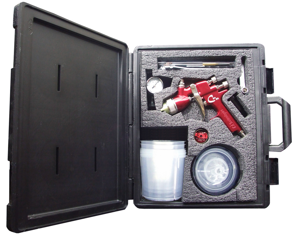 CA Tech CPR-G-W-PPS, HVLP/Compliant Pres Red Gun Kit PPS Setup
