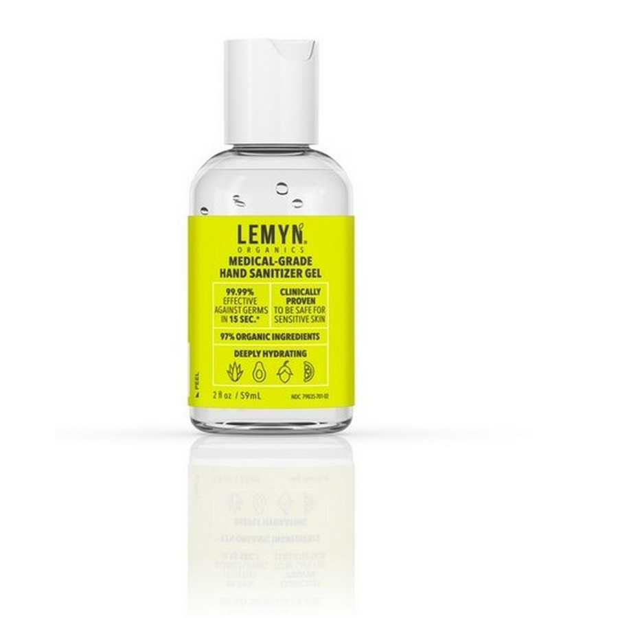2oz Lemyn Organic Hand Sanitizer, 3/Pack