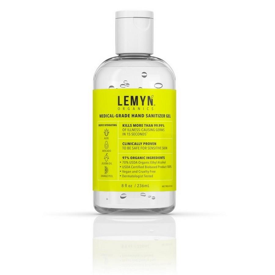 8oz Lemyn Organic Hand Sanitizer