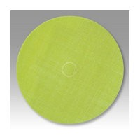 3M 51111497449 Abrasive Discs, Trizact Film, 5in, No Hole, PSA, Green A35 Micron