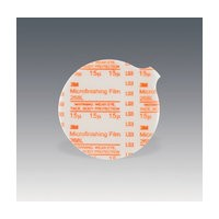 3M 51144769773 Abrasive Discs, Microning Film, 5in, No Hole, PSA, 15 Micron