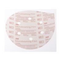 3M 51144808175 Abrasive Discs, Microning Film, 6in 6-Hole PSA, 60 Micron