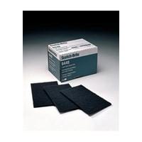 3M 48011165554, Abrasive Hand Pads, Non-Woven, Dark Gray, 6 x 9in
