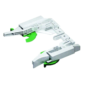 Grass F134101222223 Right Hand Grass Economy Front Locking Bracket for Use with Dynapro Undermount Drawer Slides