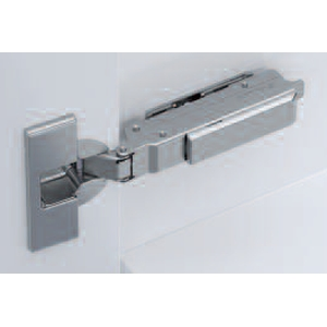 Grass F028138390228 95 Degree Tiomos Soft-close Thick Door Hinge, Full Overlay, Dowel, 42mm Boring Pattern