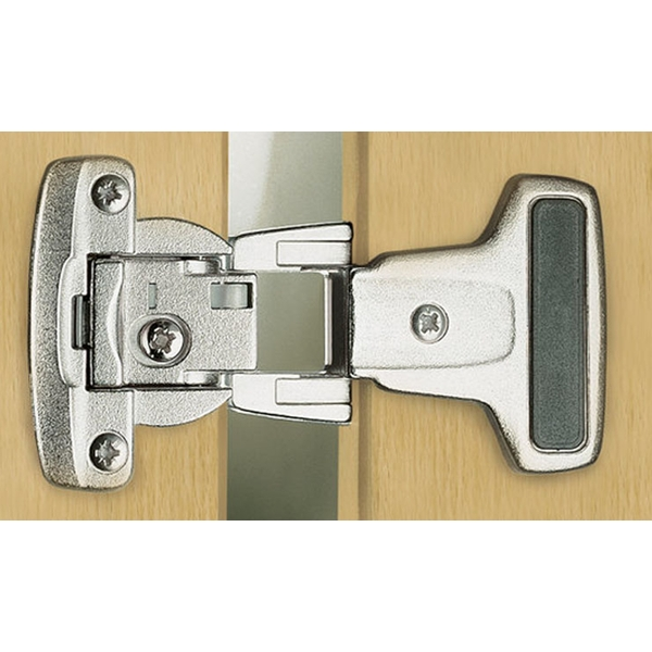Grass F150145399223 Institutional Hinge Arm, Half Overlay, Black