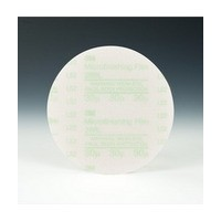 3M 51144819201 Abrasive Discs, Microning Film, 5in, No Hole, Hook & Loop, 30 Micron