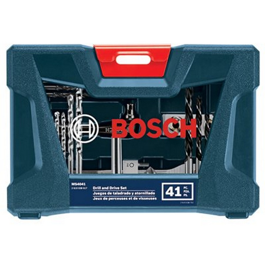 41 Piece Drilling and Driving Mixed Bit Set Bosch MS4041
