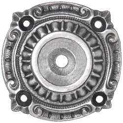 "Queensway Backplate 1-1/2"" Dia Antique Pewter Notting Hill NHE-511-AP"