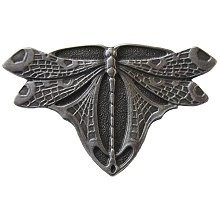 Notting Hill NHK-107-AP, Dragonfly Knob in Antique Pewter, Arts & Crafts